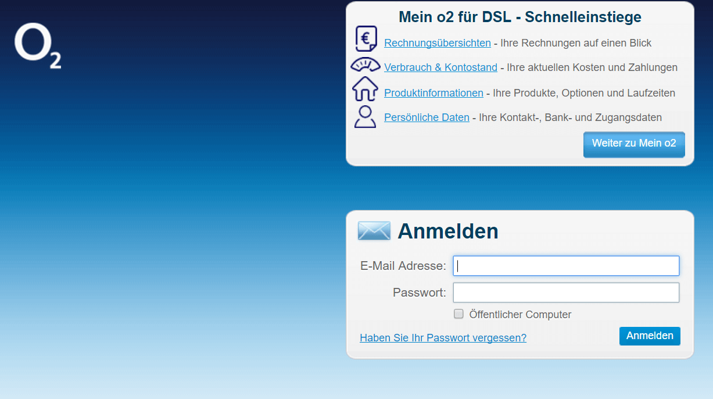 Webmail Login O2